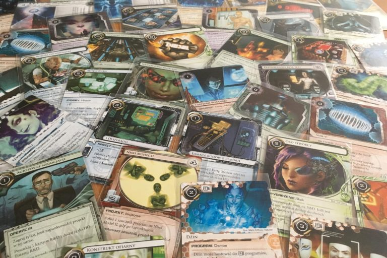 karty Android Netrunner