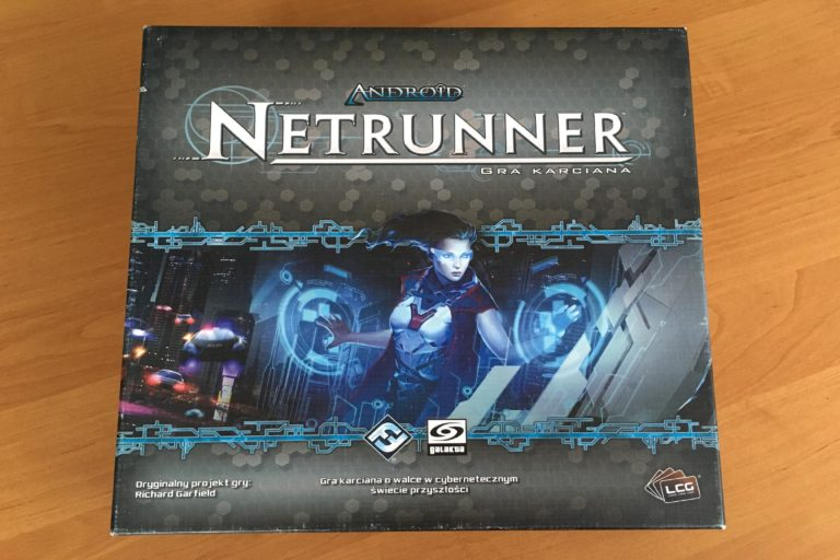 pudełko Android Netrunner